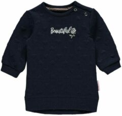 Quapi! Meisjes Jurk - Maat 50 - Donkerblauw - Micro polyester/spandex