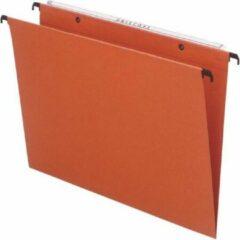 Oranje Esselte hangmappen voor laden Uniscope tussenafstand 380 mm V-bodem met haken