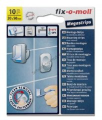 Fix-o-moll Fixomoll mega strips 20mm/50mm.