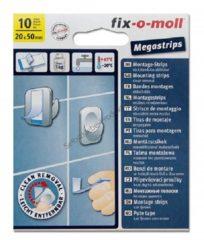 Fix-o-moll Fixomoll mega strips 20mm/50mm.