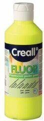 Gele Creallshop.nl Creall fluor verf 250ml geel
