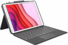 Logitech Combo Touch toetsenbord voor mobiel apparaat QWERTY Brits Engels Grafiet Smart Connector
