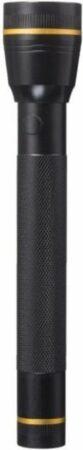 Afbeelding van Zwarte Dunlop Zaklamp van Aluminium | Voor Kamperen of Klussen | Klus | Camping | Festival | Licht Bijschijnen