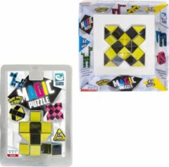 Clown Games Clown Magic Puzzle 48dlg Geel + Puzzle 3d 24 Dlg Geel