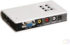 Velleman AV Converter VASMON3 [ - ] 640 x 480 pix, 800 x 600 pix, 1024 x 768 pix, 1440 x 900 pix, 1280 x 1024 pix