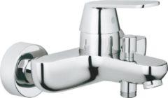 Grohe Eurosmart Cosmopolitan badkraan E met omstel en koppelingen chroom 32831000