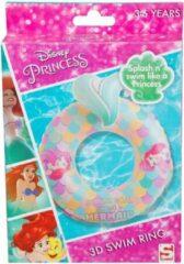 Blauwe Zwemring Disney Princess
