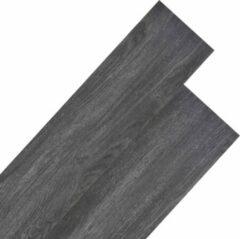VidaXL Vloerplanken 5,26 m² PVC zwart en wit