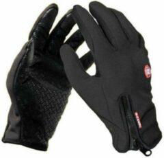 Sitna Kwalitatieve Small Handschoenen - Wintersport - Schaatsen - Snowboarden - Skiën - Wielrennen - Uniseks - Zwart