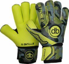 Groene DE Ballenzaak Keepershandschoenen db skills cm - maat 6