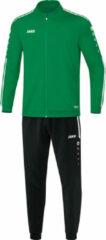 Groene Jako Trainingspak polyester striker 2.0 m9119-06