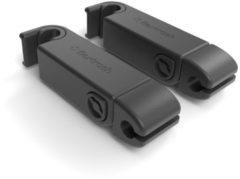 Seatclips Flip zwart voor Flextrash (set van 2)