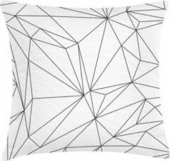 Witte ECO Design FT 008933 Kussen White Geometric 45x45