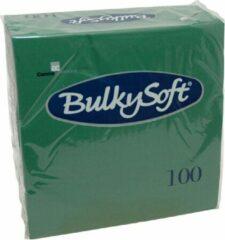 Bulkysoft Servet 2l 40x40 cm 1/4v Groen