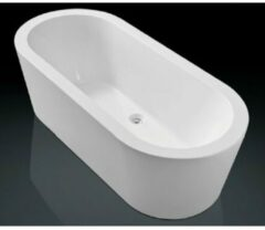 Royal Plaza Zelo2 bad vrijstaand 180x80cm met afvoer en onderstel wit 37686