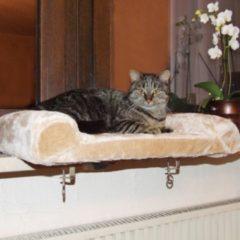 Kerbl Kattenmand voor de vensterbank 36x56 cm beige 82656