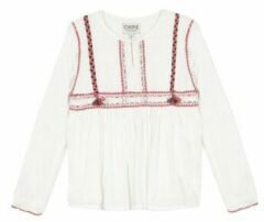 Witte Blouse Chipie 8R12014-19