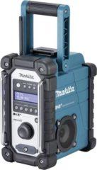 Makita DMR110 DAB+ Bouwradio DAB+, FM, AUX Spatwaterbestendig Zwart, Turquoise