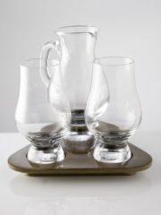 STÖLZLE Stölzle Whiskygläser Probier-Set, »Glencairn Glass« (2 Whiskygläser mit Krug auf Tablett)
