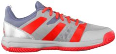 Handballschuh Stabil X JR im Bicolor-Style BB6346 mit optimaler Dämpfung adidas performance raw steel s18/hi-res red s18/silver met.