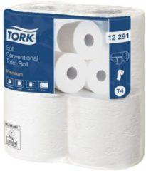 Tork Premium toiletpapier 2-lgs wit 50 mtr x 10 cm pk à 48 rol/198 vel(12x4)(12291)