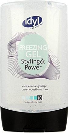 Afbeelding van Idyl Huismerk Haargel Freezing 10 Mega Strong Hold 300ml
