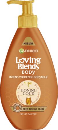 Afbeelding van Garnier Loving Blends Body Honinggoud intense voedende bodymilk - 250 ml
