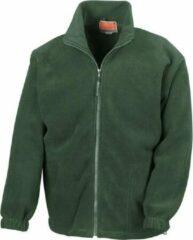 RESULT Fleece vest R036X FlessengroenXL