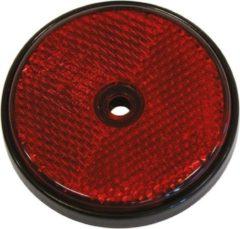 Universeel Reflectoren rond 70mm rood 2 stuks