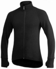 Woolpower - Full Zip Jacket 600 - Wollen jack maat XXL, zwart