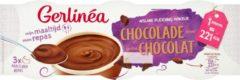 Gerlinéa Afslank Maaltijdpudding Chocolade (Kant-en-klaar) 3-pack (3x210g)