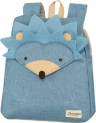 Blauwe Sammies by Samsonite Happy Sammies Backpack S hedgehog harris Kindertas