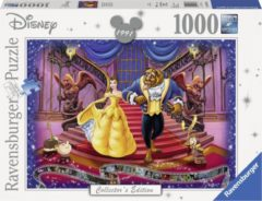 Ravensburger puzzel Disney The Beauty and the Beast - Legpuzzel - 1000 stukjes
