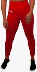 Rode Forza Fighting Gear FORZA HOGE TAILLE LEGGINGS - FIRE RED