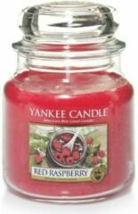 Rode Yankee Candle - Red Raspberry Candle - Raspberry Candle