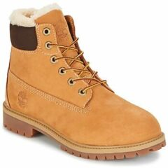 Bruine Boots en enkellaarsjes Premium 6e Waterproof Shearling Boot by Timberland