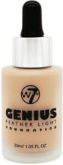 W7 Genius Foundation - Sand Beige 30ml