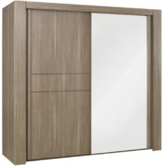 Gamillo Furniture Kledingkast Moka 249 cm breed in houtskool eiken