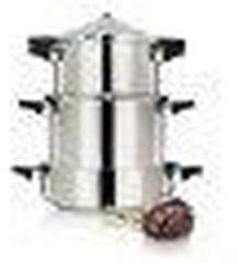 Roestvrijstalen Kuhn Rikon Duromatic Inox Snelkookpan 7 liter