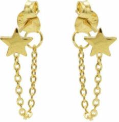 Karma Jewelry Karma Oorbellen Chain Star Goud