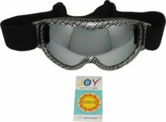 Grijze Joy Viga Kids TPU Ultra-Light frame. DUBBEL layer lens. Ski/Snowboard Goggle