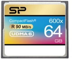 Silicon Power 64GB 600X flashgeheugen CompactFlash