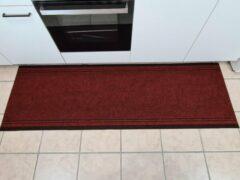 Ihlasim decoratie ID vloerkleed keukenloper rood 66cm*2,5 meter