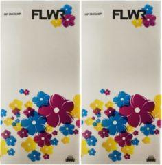 FLWR - Inktcartridge / 364XL / Multipack (2 sets) Zwart en kleur - Geschikt voor HP
