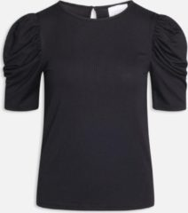 Zwarte Sisters Point Korte mouw T-shirts Vya-ss