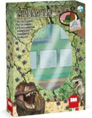 Multiprint Kleurset Dinosaurs 12-delig Groen