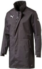 Jacke Coach Jacket mit verdecktem Reißverschluss 653810-03 Puma Black-Black