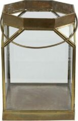 Luxury Label Windlicht Warren 21,5 X 35,5 Cm Staal Goud