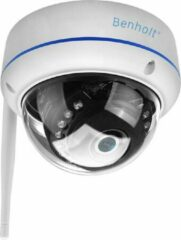 Witte Benholt 9015MW - HD WiFi Beveiligingscamera Indoor - 2MP - Metaal - Waterproof