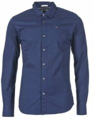 Blauwe Kleding TJM ORIGINAL STRETCH SHIRT by Tommy Jeans